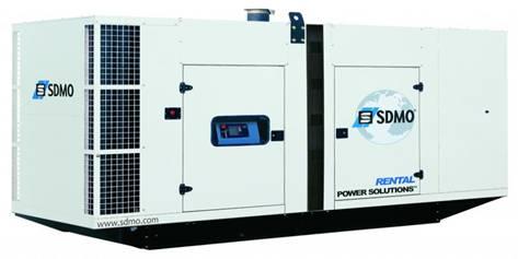 Дизельные генераторы SDMO RENTAL POWER SOLUTION
